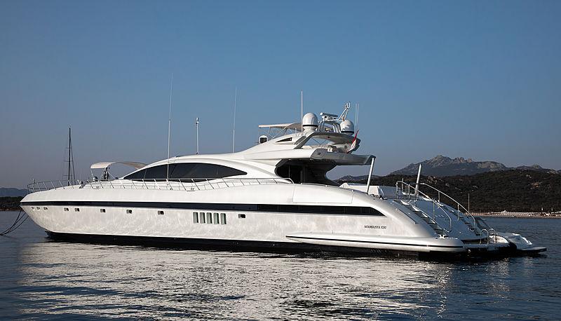 LUCE yacht Overmarine