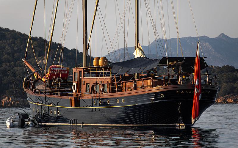 CASSIOPEIA yacht Torre del Greco