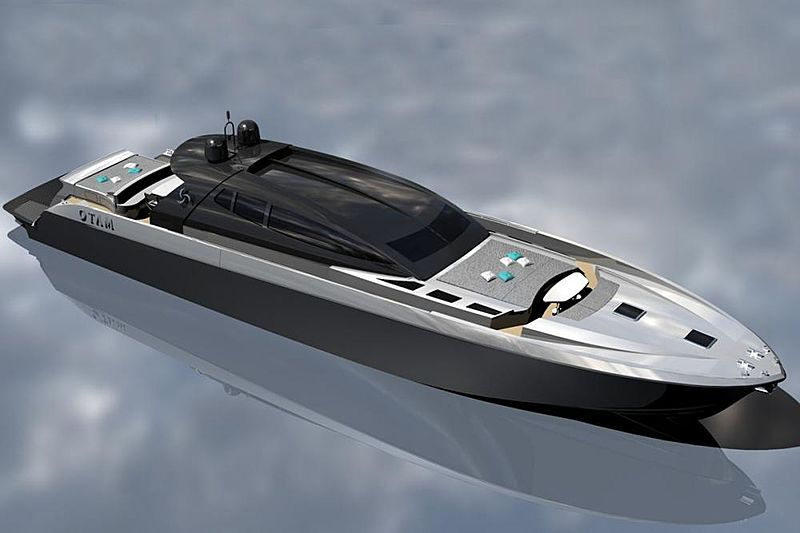 Attitude yacht exterior renderings