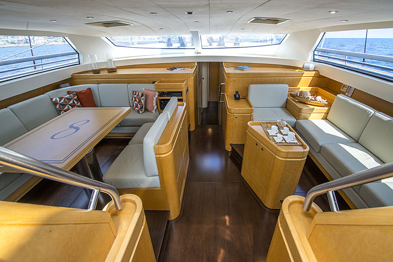Infinity yacht by CNB saloon