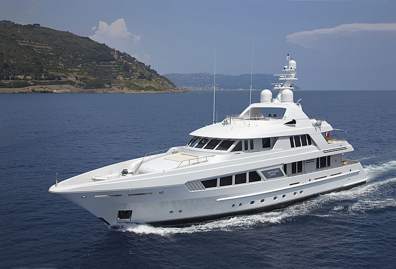Kathleen Anne yacht cruising