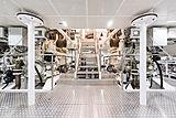 Irimari yacht engine room