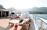 Irimari yacht aft deck
