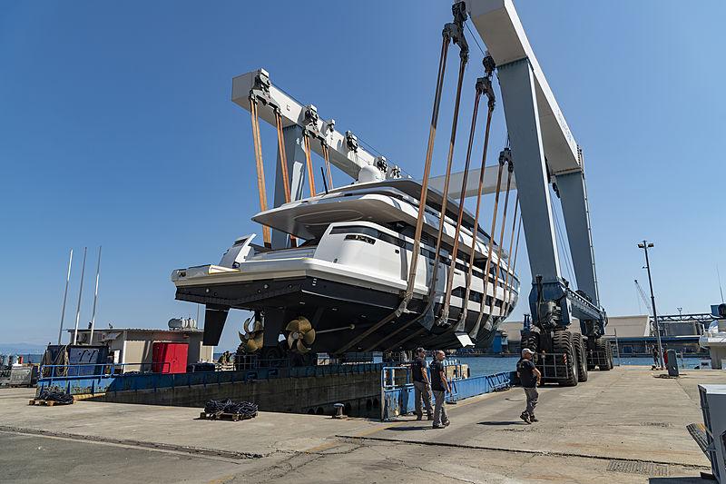 L.A.U.L. yacht launch