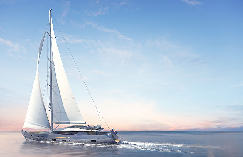 L'Aquila II yacht by Mengi-Yay