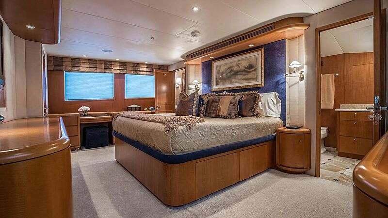 Tranquility yacht stateroom