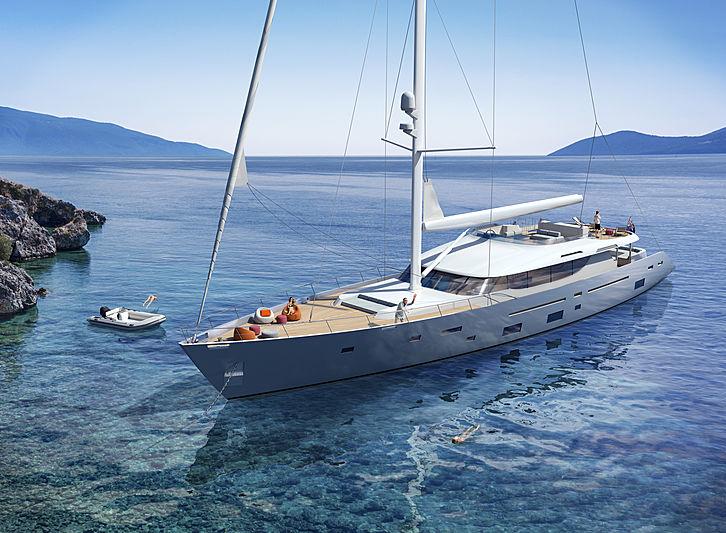 L'Aquia II yacht exterior design