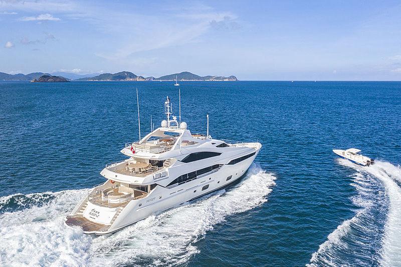 Rhine yacht cruising
