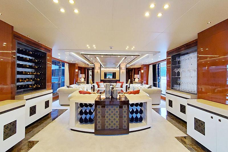 Rhine yacht saloon