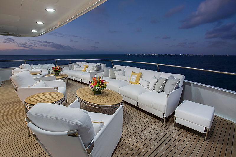 Marcato Yacht Aft Deck