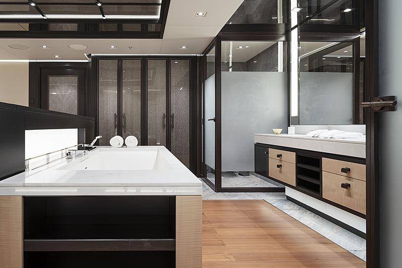 Illusion Plus yacht bathroom