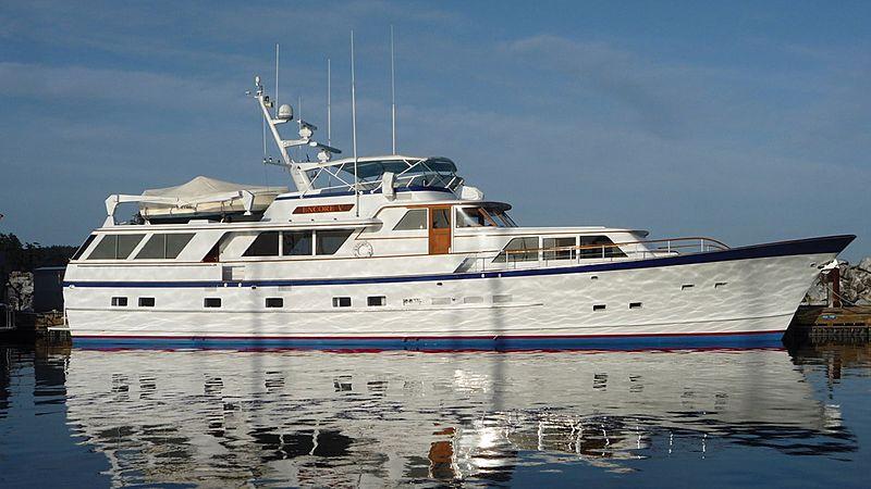ENCORE V yacht Burger Boat Company