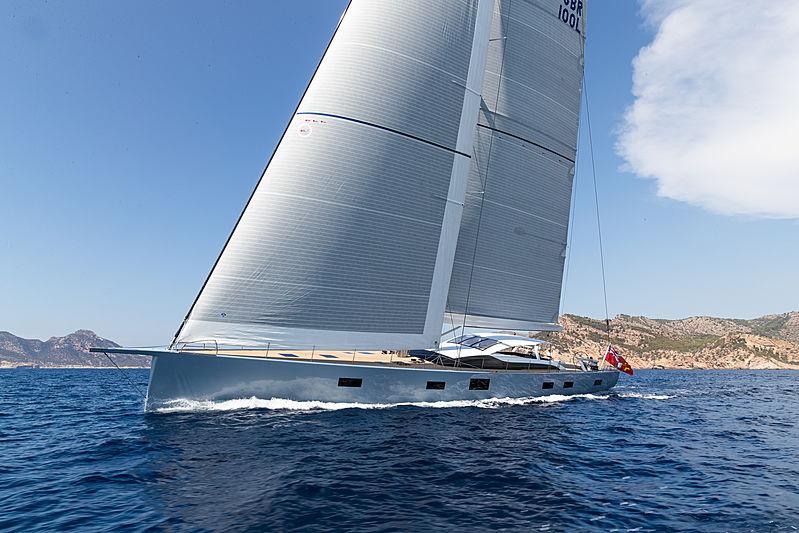 Liara yacht sailing