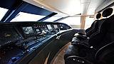 Cheeky Tiger yacht wheelhouse