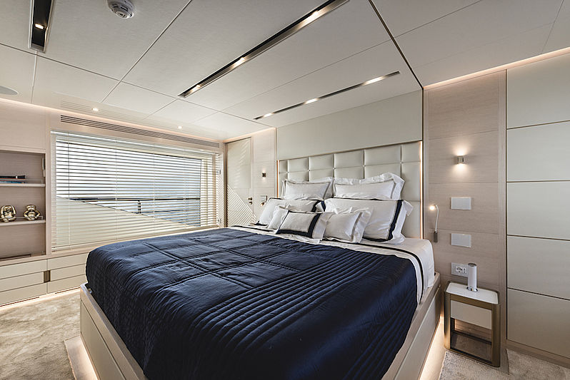 Taboo of the Seas yacht stateroom