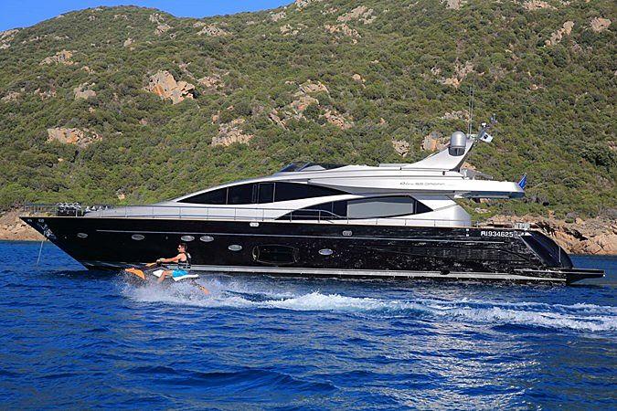 BLACK PEARL  yacht Riva