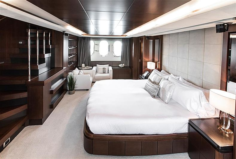 Tail Lights yacht stateroom
