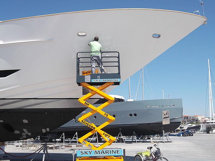 Sky Marine yacht refit