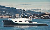 Joy Rider yacht support vessel by Damen