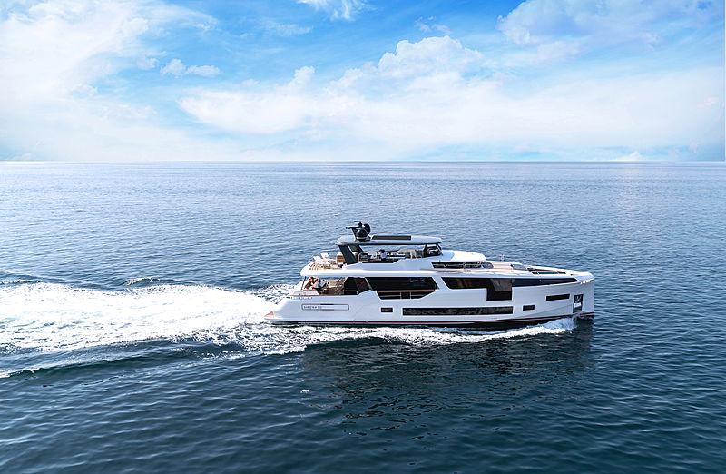 Sirena 88 RPH yacht cruising