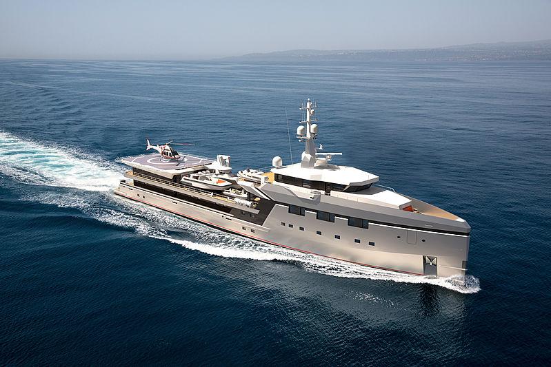 Damen YS 7512 Yacht Support