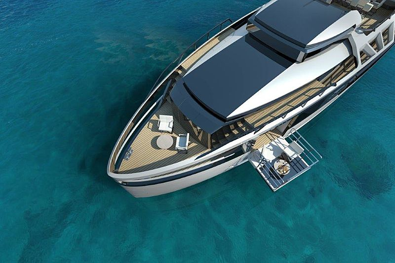 XSR85 Plus foredeck anchored