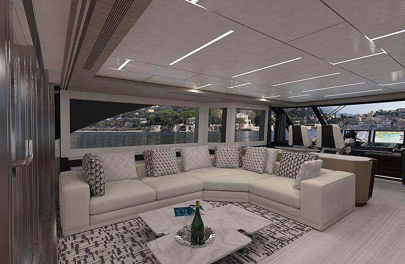 Ocean Alexander 90 Revolution interior
