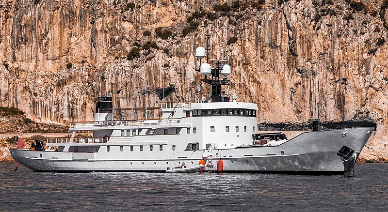 Olivia yacht in Éze, France