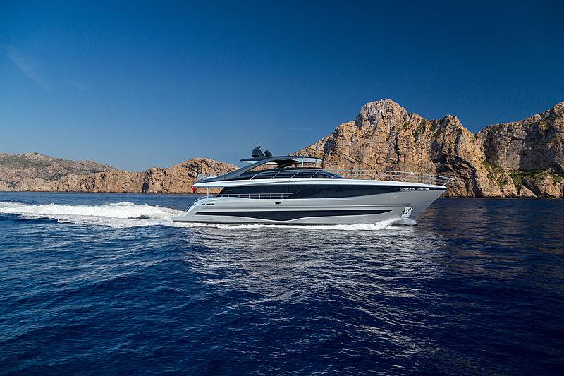 Princess Y95 yacht