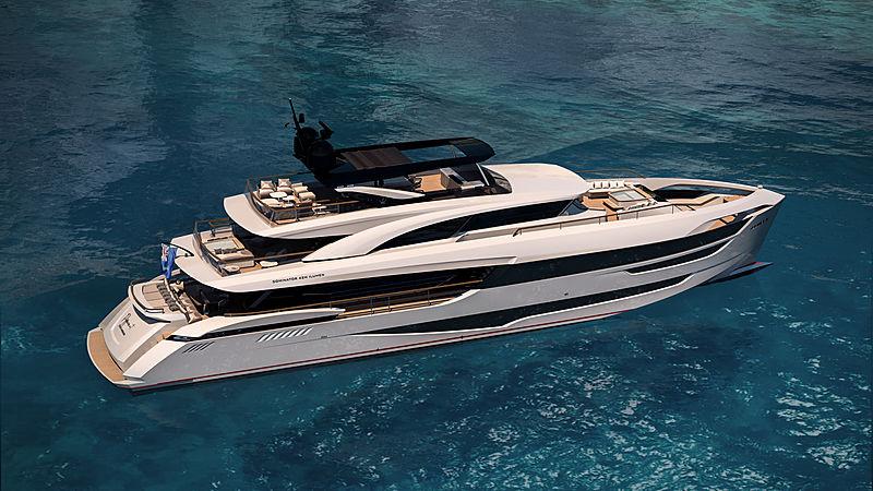 Dominator Ilumen 42M Tri-Deck yacht