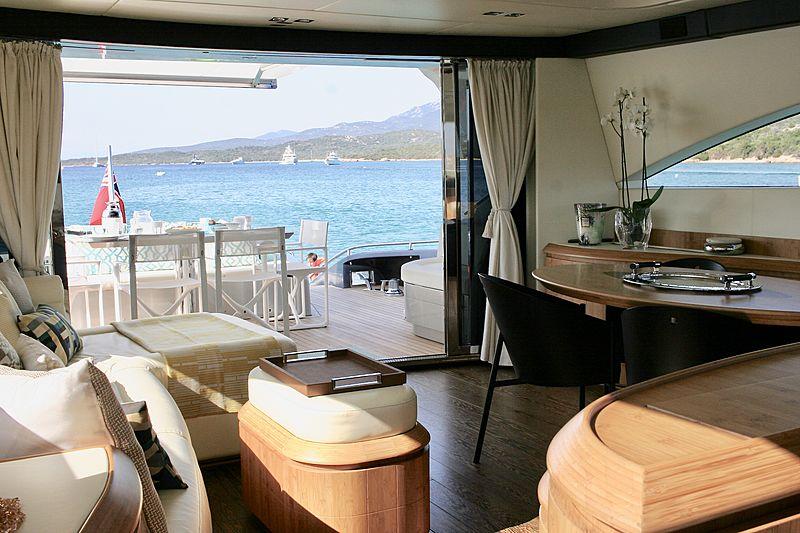 Syber yacht interior