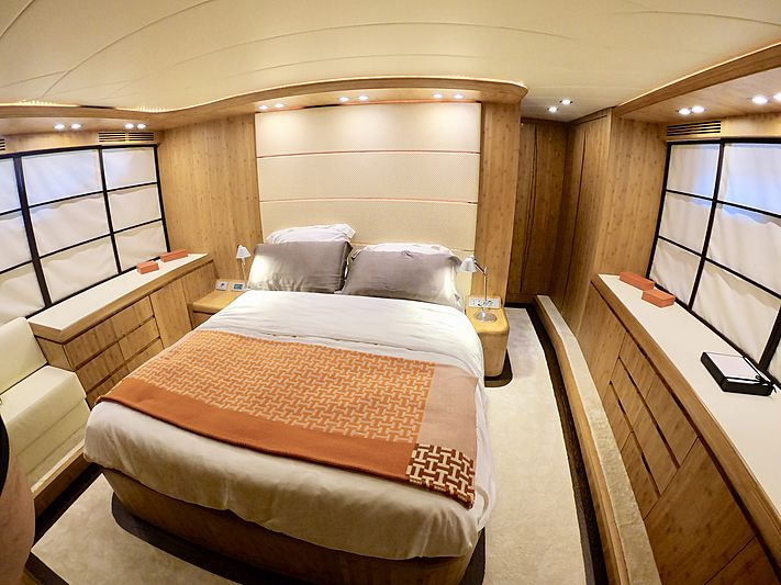 Syber yacht stateroom
