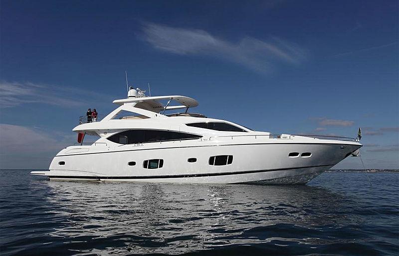 HAWK yacht Sunseeker