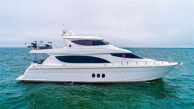 ISLAND COWBOY yacht Hatteras