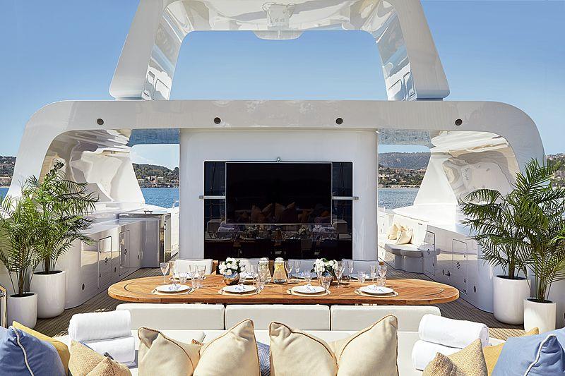 Andreas L yacht sundeck