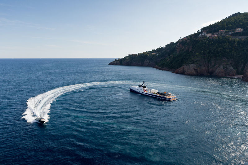 Fast & Furious yacht support vessel