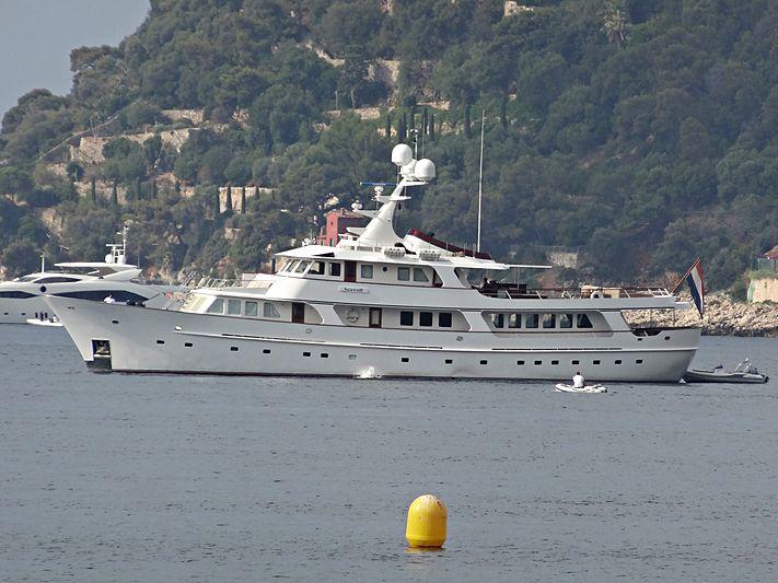Seawolf yacht in Villefranche-sur-Mer
