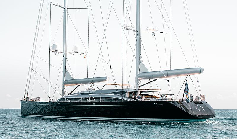 Sailing yacht Vertigo by Alloy Yachts in Antibes, France
