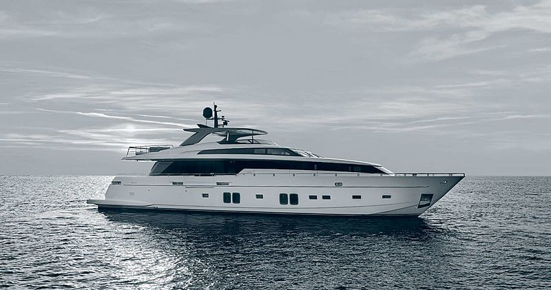 Maritta S yacht anchored