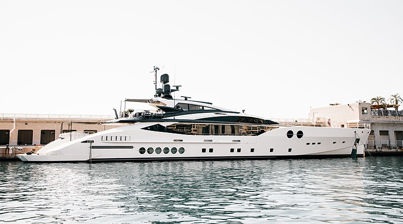 Bliss yacht by Palmer Johnson in Cap d'Ail