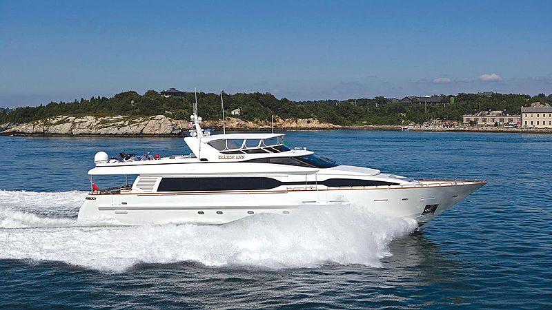 Ana's Inspiration yacht cruising