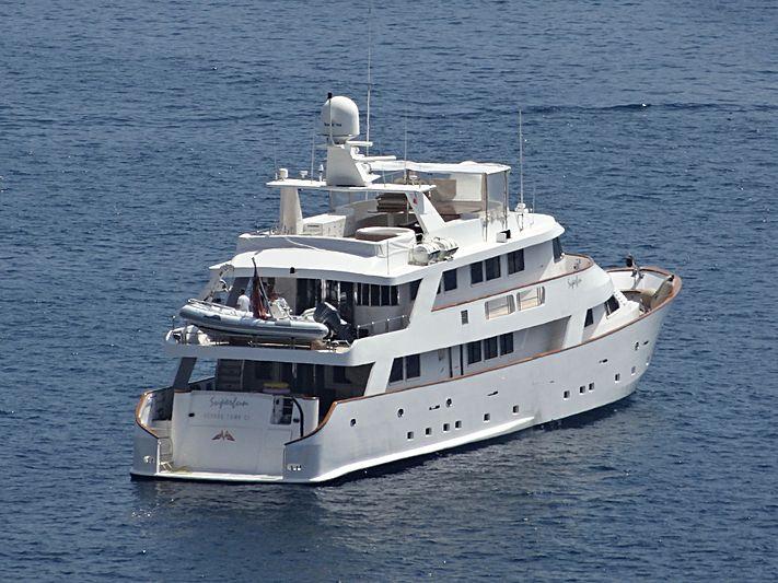 Superfun yacht in Villefranche-sur-Mer