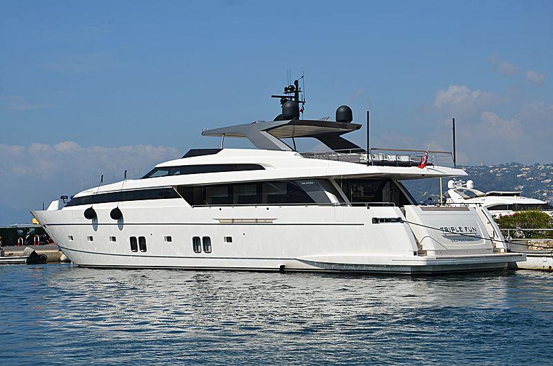 Triple Fun yacht in Port Gallice