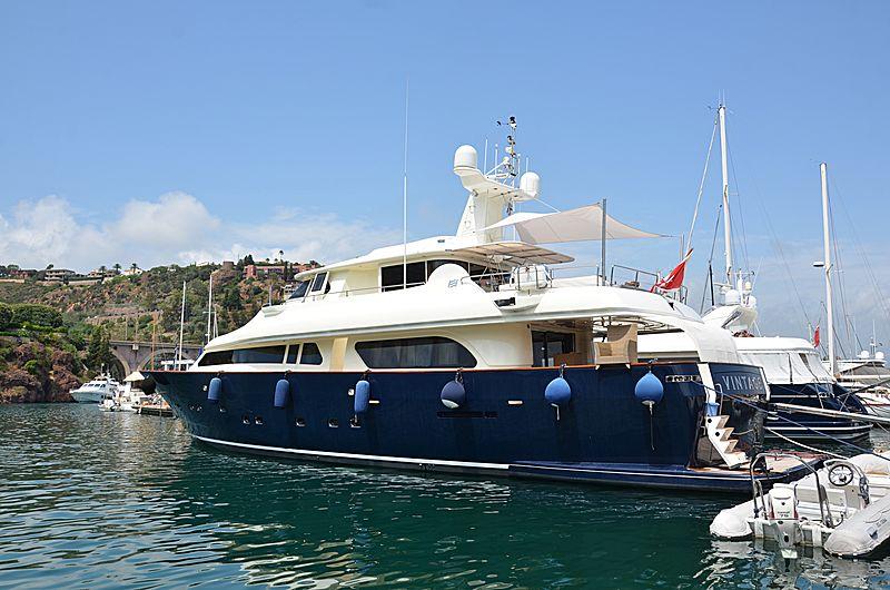 VINTAGE yacht Custom Line