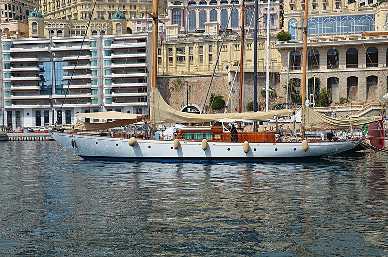 Wayfarer of London yacht in Monaco