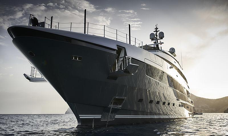 Attila yacht by Sanlorenzo
