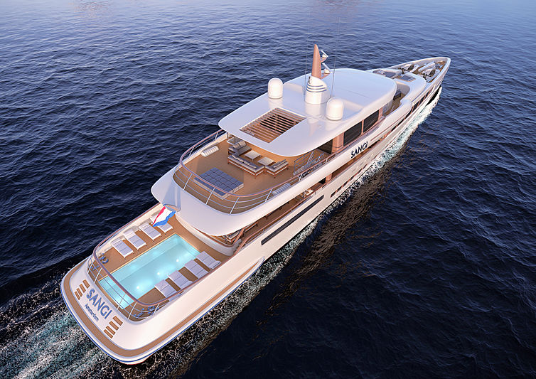 Royal Huisman yacht Project Sangi