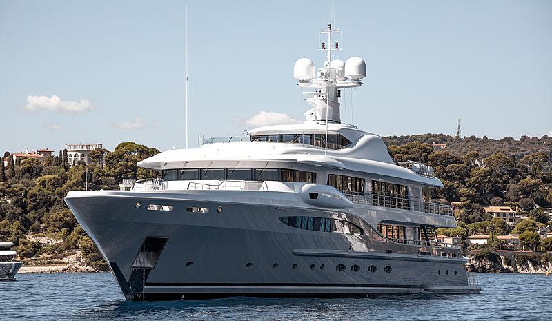 Ventum Maris yacht at anchor of Monaco