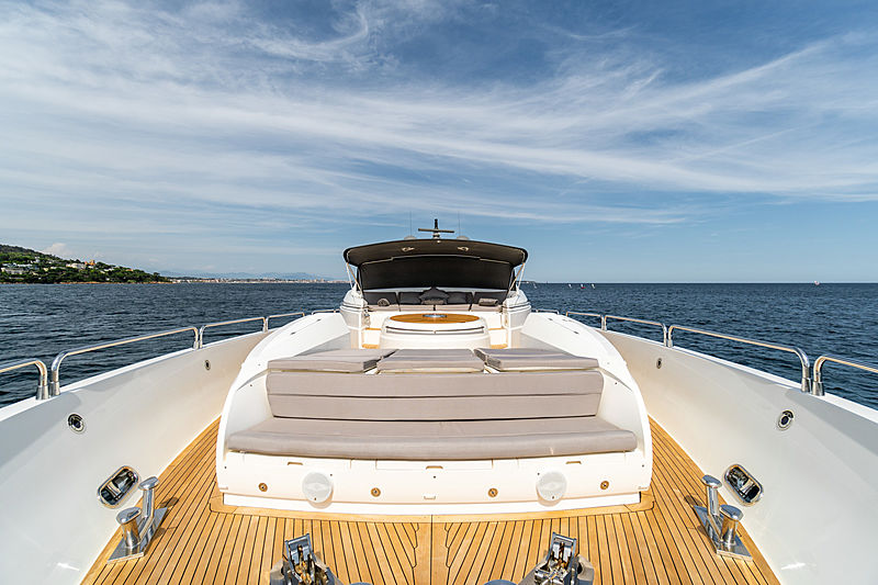 La Gioconda yacht foredeck