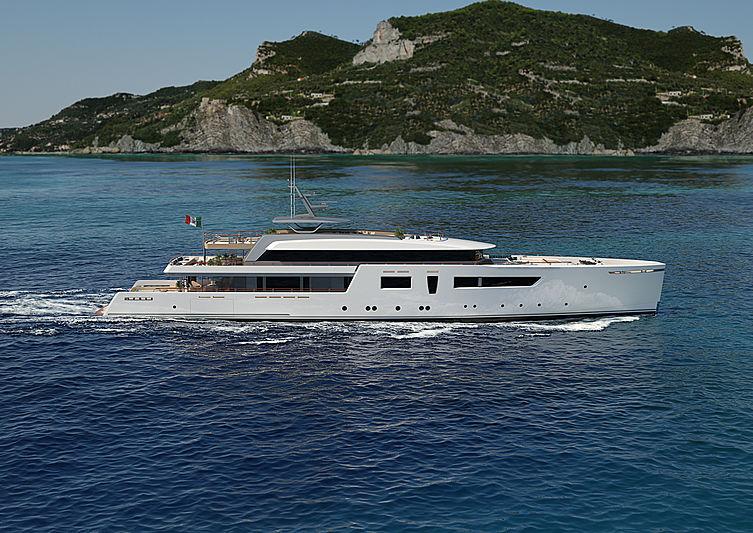 62m Luca Vallebona yacht concept